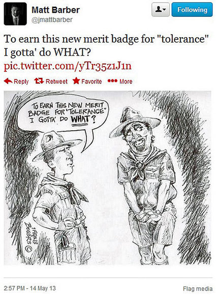 Matt Barber tweets homophobic cartoon of gay man tricking Boy Scout into sex | Daily Crew | Scoop.it