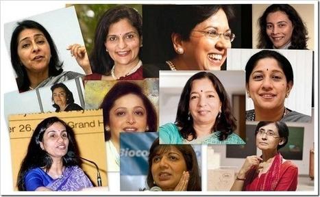 The Most Powerful Indian Business Women Of 2013 | Biz-Tech-Buz | Scoop.it