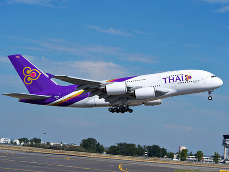 Thai Airways met du wifi dans les Airbus | www.ewistraining.com | Scoop.it