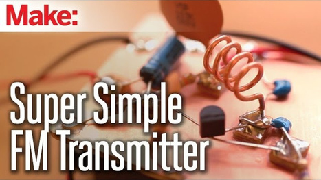 Build Your Own FM Transmitter and Send Your Music to Any Stereo | Heron | Scoop.it