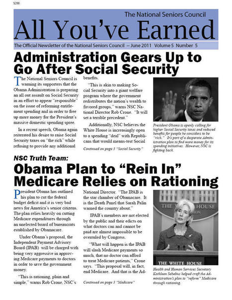 Obama Begins Push for New National Retirement System | Restore America | Scoop.it