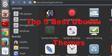 Best Ubuntu 13.10 Themes. Top 5 Most Beautiful and Clean Themes! | Ubuntu | Scoop.it