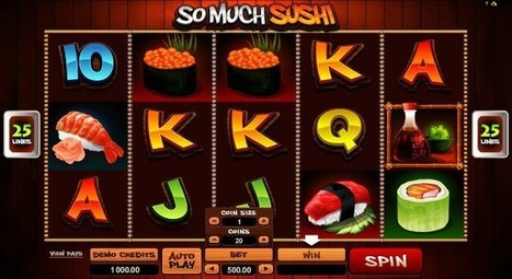 New So Much Sushi slot online | Online Slots | Scoop.it