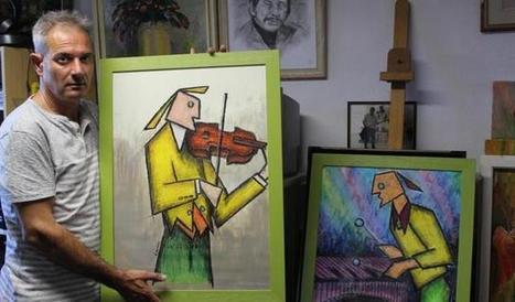 """"""" Zanzan """" met la musique en couleurs - la Nouvelle République   Music and nothing else !   Scoop.it"""