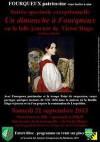 [représentation] « Un dimanche à Fourqueux ou la folle journée de Victor Hugo », de Pierre Maubé, le 21 septembre, Fourqueux | Poezibao | Scoop.it