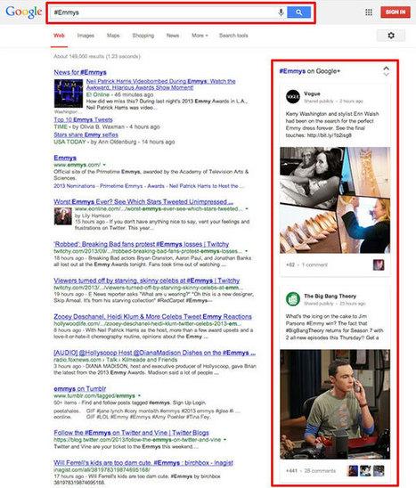 Google introduit la recherche par hashtag dans son moteur de recherche | outils de veille+colloques | Scoop.it