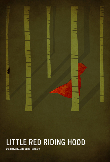Hyper-minimalist posters of the classic children's stories | GRaphicARTnews | Graphic Design and Art Photography Inspiration | freehand illustration and graphic design | Scoop.it