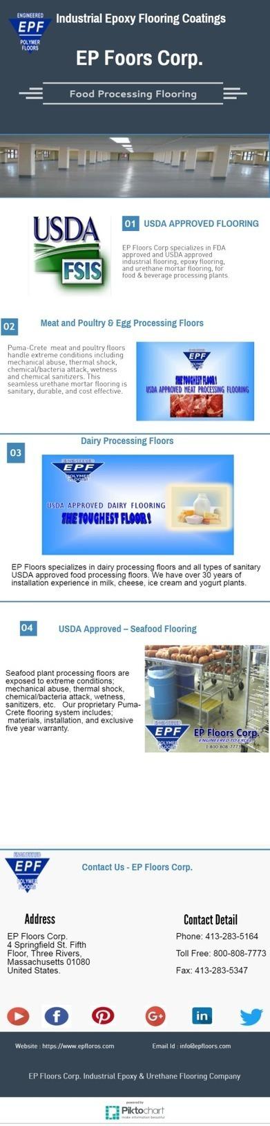 Food Processing Flooring | INDUSTRIAL FLOORING INSTALLATION IN USA | Scoop.it