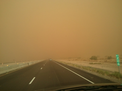 """Dust Storm"" dangers: There's an app for that