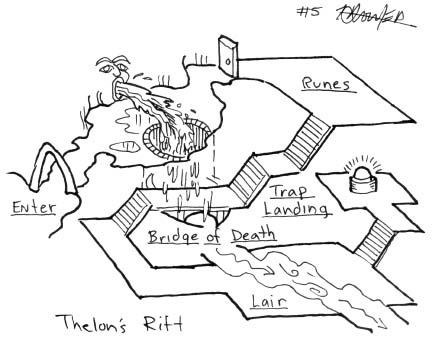 Créer un scénario par la technique du donjon en 5 pièces   Glanages & Grapillages   Scoop.it