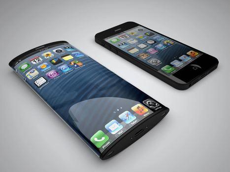 Curve Glass iPhone Concept Design - Business Insider | Exhubit | Scoop.it