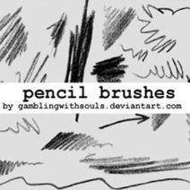 Pencil Drawing Brushes for Photoshop | PSDDude | Digital Photography | Scoop.it