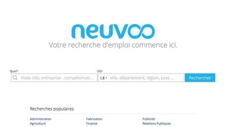 Neuvoo. Moteur de recherche d'emplois dans plus de 60 pays - Les Outils du Web | Les outils du Web 2.0 | Scoop.it