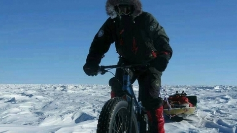 Juan Menéndez Granados se convierte en el primer hombre en llegar en bici al Polo Sur. carreraspormontana | Bici & ciudad | Scoop.it