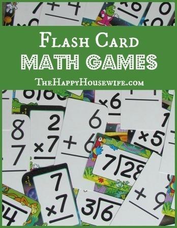 Flash Card Math Games | Homeschooling Our Children | Scoop.it
