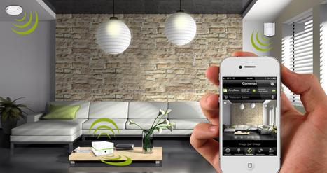 Le smartphone démocratise la domotique   NEWS IMMO CompareAgences.com   Scoop.it