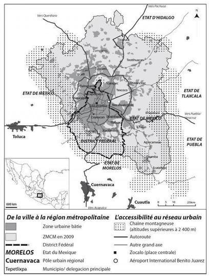 Une ville qui bouge, une ville qui change. Métropolisation et redistribution de la population dans l'agglomération de Mexico (Espaces populations sociétés) | #Agreg | Scoop.it