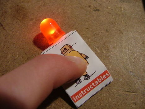 Instructables Robot Paper LED Flashlight | Web 2.0 y sus aplicaciones | Scoop.it
