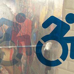 Le street art revisite l'image de l'accessibilité (2013-11-29) - ISO | Street art | Scoop.it