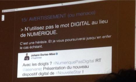 Faut-il dire numérique ou digital ? - Blog du Modérateur | Transformation digitale | Scoop.it