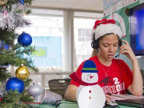 College students sing 'from their hearts' for Dial-a-Carol holiday tradition - TODAY.com | Troy West's Radio Show Prep | Scoop.it