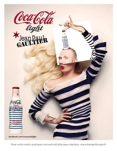Coca-Cola Light habillé par Jean-Paul Gaultier   Brand   Scoop.it
