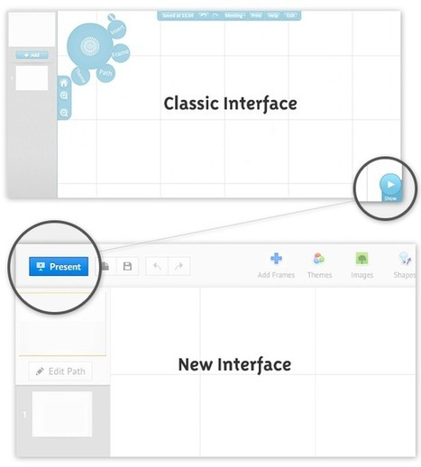 Educational Technology Guy: Prezi Interactive Presentation Tool gets a new interface | Adjunct Professors Resource | Scoop.it