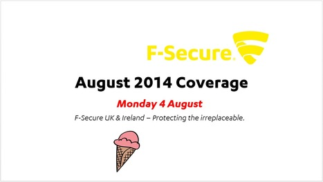 August Coverage (4th) | F-Secure Coverage (UK) | Scoop.it