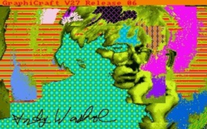 Lost Warhol originals extracted from decaying Amiga floppies | For Art's Sake-1 | Scoop.it