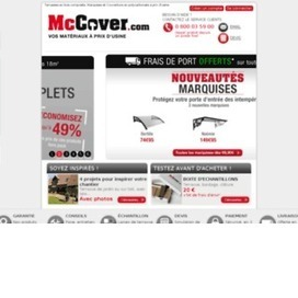 Tous vos materiaux, portes, cheminées ou terrasses a petits prix grace à McCover | coupon reduc | Scoop.it