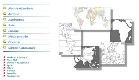 Des cartes géographiques à volonté | Revue de tweets | Scoop.it