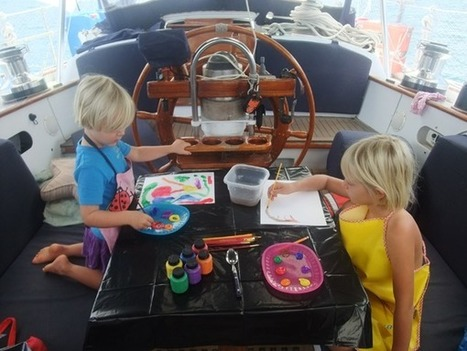 Crossing Seas with Kids | Sail Magazine | Yachting Vacations all over the world | Scoop.it