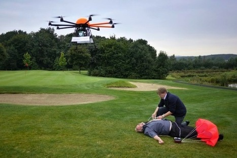 Defibrillator Equipped Drones Speed Treatment To Those In Need - PSFK | The future of medicine and health | Scoop.it