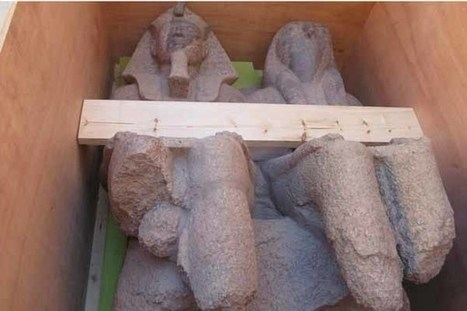 King Amenhotep III colossus to be on displayed on GEM's Grand Staircase - Ancient Egypt - Heritage - Ahram Online | Centro de Estudios Artísticos Elba | Scoop.it