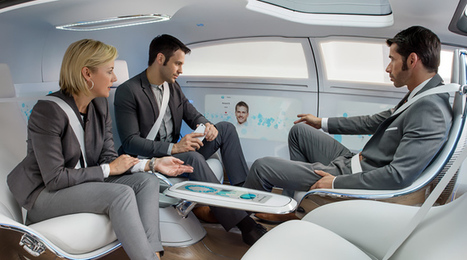 What Will The Interior Of A Self-Driving Car Look Like?   Ubiquitous Learning   Scoop.it