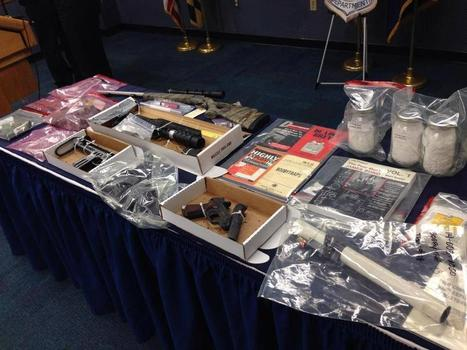 Massive cache of explosives, bomb manuals found in Maryland home | Criminal Justice in America | Scoop.it