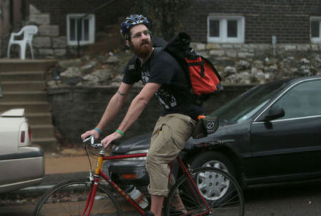Bike delivery services springing up around St. Louis - STLtoday.com | bicycle delivery outsource | Scoop.it