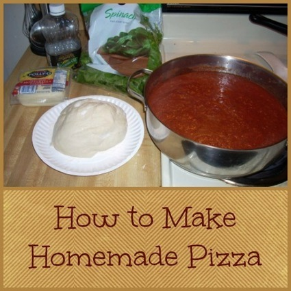 How to Make Homemade Pizza | Homemaking | Scoop.it