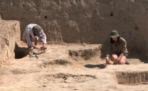 Piece of ancient writing discovered in Kultobe ancient settlement in South Kazakhstan | Anthropology, Archaeology, and History | Scoop.it