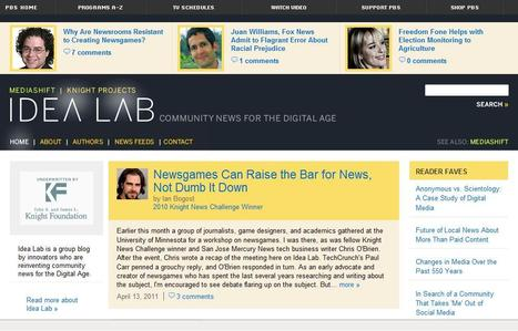 MediaShift Idea Lab | Top sites for journalists | Scoop.it