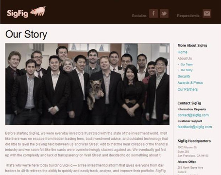 "Startup Venture Applies Storytelling Techniques to ""About Us"" Section 