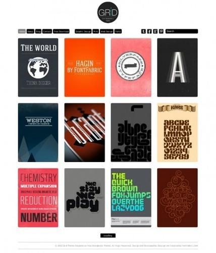 15 temas gratuitos para #wordpress al estilo #Pinterest | Diseño y Recursos Web | Scoop.it