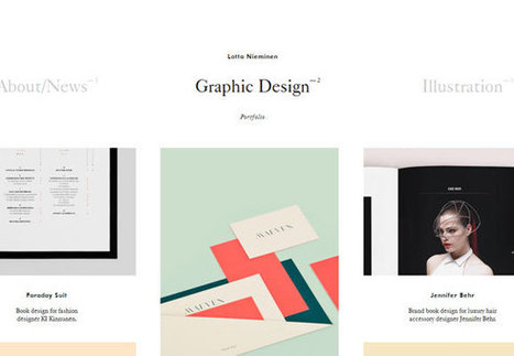 25 Creative Web Designers Portfolio Design | Web Design | Scoop.it