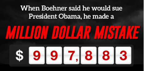 """""""Boehner's Million $ Mistake""""   Democratic Congressional Campaign Committee   06/27/14   Politics From My Point Of View   Scoop.it"""