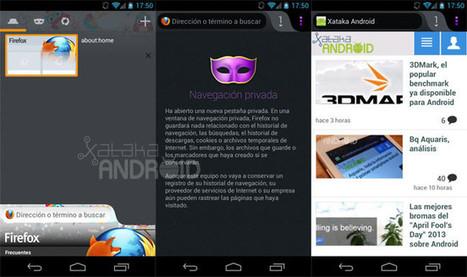 Firefox 20 para Android, ahora con navegación privada, personalización de sitios frecuentes y más | apps educativas android | Scoop.it