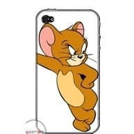 Tom and Jerry cartoon iPhone 4, 4S protective case | Apple iPhone and iPad news | Scoop.it