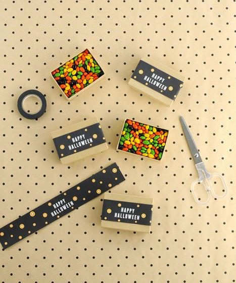 Happy Halloween Candy Box Band DIY | Travaux Manuels | Scoop.it