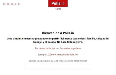Polls.io, herramienta para crear encuestas simples en cuestión de segundos | TICs para Docencia y Aprendizaje | Scoop.it