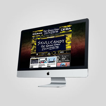Skullcandy Event Website - Webfeet Design | Lismore | Scoop.it