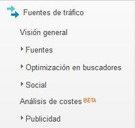 PosicionaWeb.es - Exprime google analytics (II): Fuentes de Tráfico   Curso de Posicionamiento Web 1   Scoop.it